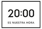 Las 20:00 es nuestra hora